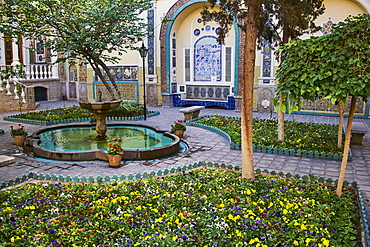 Garden, Moghadam Museum, Tehran, Iran, Middle East