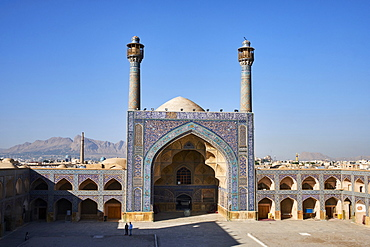 Friday Mosque, UNESCO World Heritage Site, Isfahan, Iran, Middle East