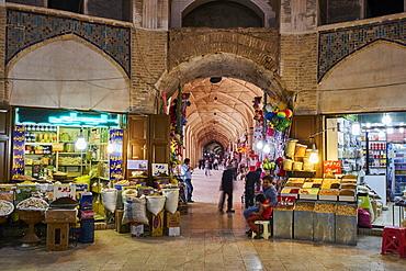 End to End bazaar, Kerman, Kerman Province, Iran, Middle East