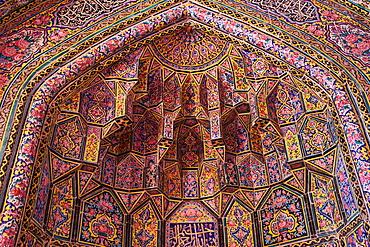 Nasir al Molk Mosque, Shiraz, Fars Province, Iran, Middle East