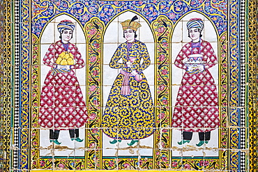 Qavam House (Naranjestan house), a historic house, Shiraz, Fars Province, Iran, Middle East