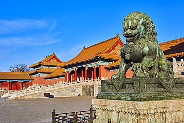 Gate of Supreme Harmony, Forbidden City, Beijing, China, East Asia - 712-2910