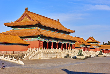 Gate of Supreme Harmony, Forbidden City, Beijing, China, East Asia
