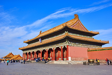 Hall of Supreme Harmony, Forbidden City, Beijing, China, East Asia