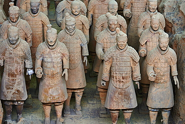 Lintong site, Army of Terracotta Warriors, UNESCO World Heritage Site, Xian, Shaanxi Province, China, Asia - 712-2953