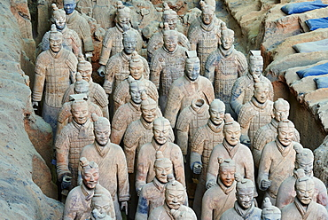 Lintong site, Army of Terracotta Warriors, UNESCO World Heritage Site, Xian, Shaanxi Province, China, Asia - 712-2955
