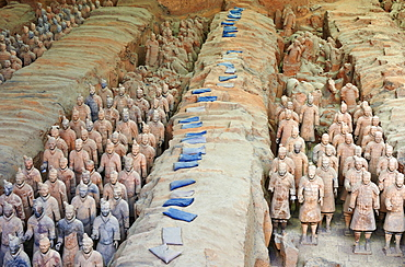 Lintong site, Army of Terracotta Warriors, UNESCO World Heritage Site, Xian, Shaanxi Province, China, Asia - 712-2956