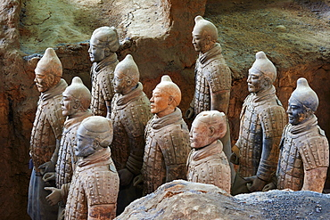 Lintong site, Army of Terracotta Warriors, UNESCO World Heritage Site, Xian, Shaanxi Province, China, Asia - 712-2958