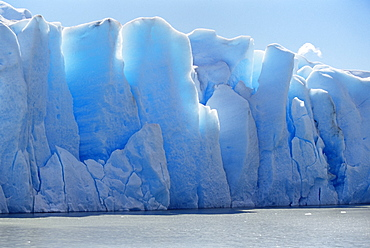 Icebergs, Lake Gray, Torres del Paine National Park, Patagonia, Chile, South America