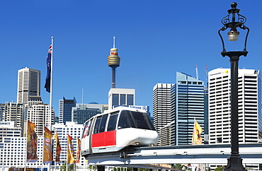 Monorail, Sydney, New South Wales, Australia, Pacific