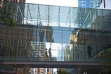 Glass Passageway, Sydney, New South Wales, Australia, Pacific