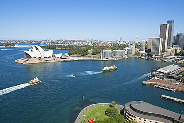 Circular Quay and Opera House, Sydney, New South Wales, Australia, Pacific