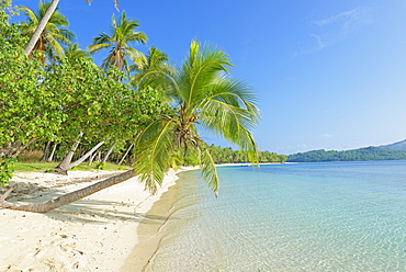 Tropical beach, Nanuya Lailai Island, Yasawa island group, Fiji, South Pacific islands, Pacific