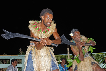 Kava ceremony, Wayaseva island, Yasawa Island group, Fiji, South Pacific islands, Pacific