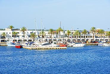 Formentera Harbor, Formentera, Balearic Islands, Spain, Mediterranean, Europe