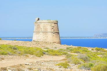 Punta Prima, Formentera, Balearic Islands, Spain, Mediterranean, Europe