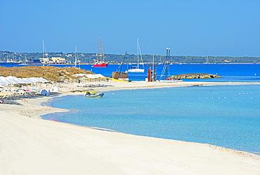 Ses Illetes beach, Formentera, Balearic Islands, Spain, Mediterranean, Europe