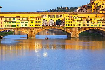 Ponte Vecchio, Florence, Tuscany, Italy, Europe