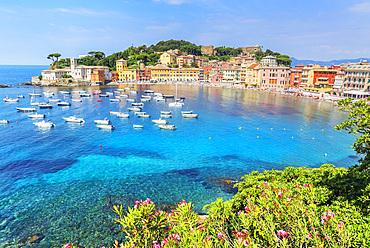 Bay of Silence, Sestri Levante, Liguria, Italy, Europe