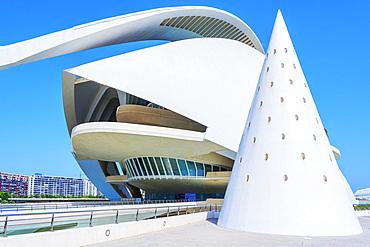Reina Sofia Arts Palace, City of Arts and Sciences, Valencia, Spain, Europe