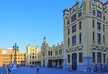 Railway station, Valencia, Comunidad Valenciana, Spain, Europe