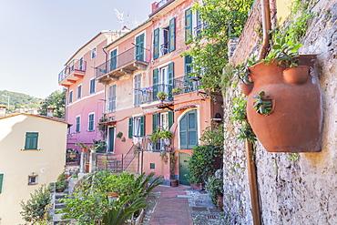 Historic district, Lerici, La Spezia district, Liguria, Italy, Europe