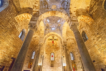 San Cataldo Church, Palermo, Sicily, Italy, Europe