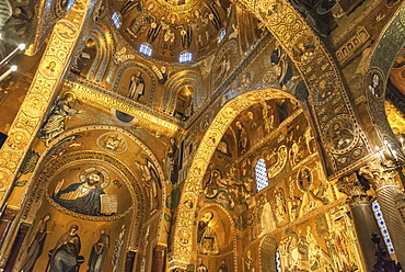 Capella Palatina, Palermo, Sicily, Italy, Europe
