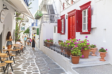 Mykonos Town, Mykonos, Cyclades Islands, Greek Islands, Greece, Europe