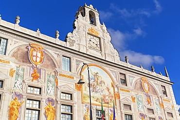 Palazzo San Giorgio, Genoa, Liguria, Italy, Europe