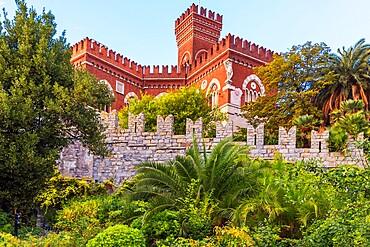 D'Albertis Castle, Genoa, Liguria, Italy, Europe