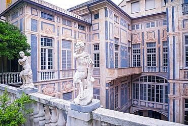 Palazzo Lomellini, Genoa, Liguria, Italy, Europe