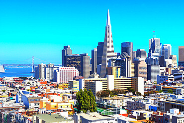 Financial district skyline, San Francisco, California, USA