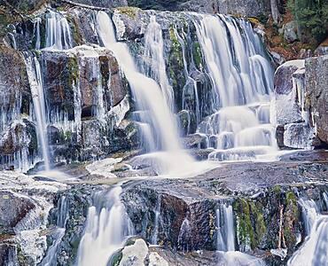 Katahdin Stream Falls, Baxter State Park, Millinocket, Maine, United States of America, North America