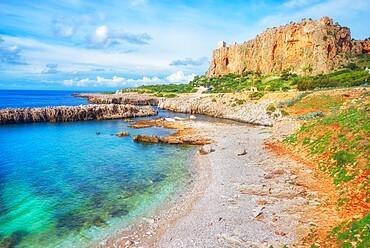 Macari beach and coastline, San Vito lo Capo, Sicily