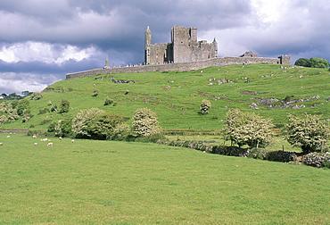 Rock of Cashel, Cashel, County Tipperary, Munster, Eire (Ireland), Europe