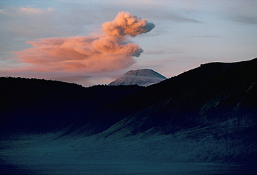 Sumeru volcano erupting, island of Java, Indonesia, Southeast Asia, Asia