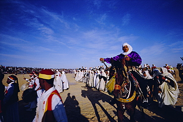 Traditional berber wedding, Douz Oasis, Tunisia, North Africa