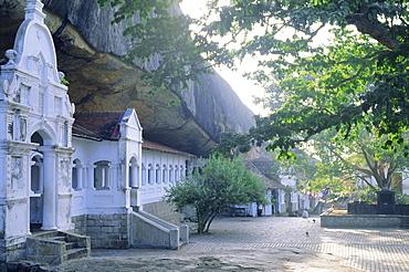 The Buddhist cave temples at Dambulla, in the Sigiriya area, Sri Lanka