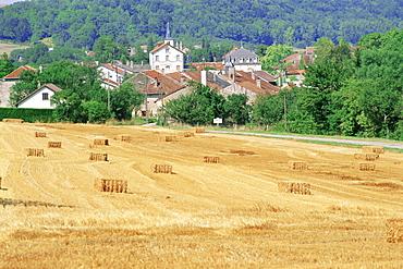 Village where Joan of Arc was born, Domremy-la-Pucelle, Vosges, Lorraine, France, Europe