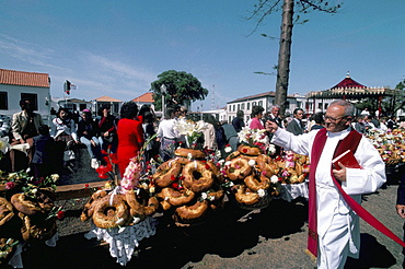Fete du Saint Esprit, festival, Pico Madalena, Azores, Portugal, Europe