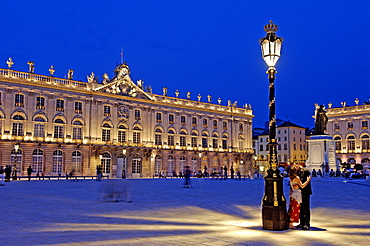 Place Stanislas, formerly Place Royale, dating from the 18th century, UNESCO World Heritage Site, Nancy, Meurthe et Moselle, Lorraine, France, Europe