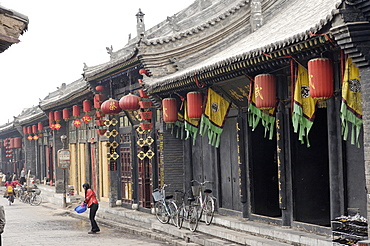 Pingyao, a historic city preserved as it was in the Qing Dynasty, UNESCO World Heritage Site, Shanxi, China, Asia