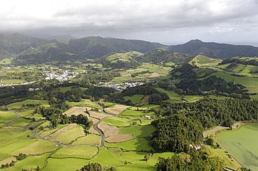 Furnas village, Sao Miguel Island, Azores, Portugal, Europe