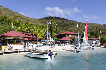 Bitter End Yacht Club, Virgin Gorda Island, British Virgin Islands, West Indies, Caribbean, Central America