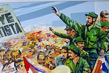 Revolutionary art, Museum of the Revolution, Havana, Cuba
