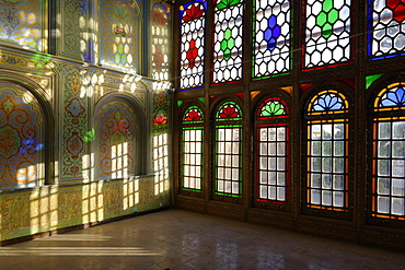 Qavam House built between 1879 and 1886 by Mirza Ibrahim Khan, Shiraz, Iran, Middle East
