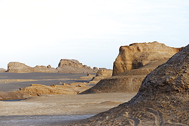 Kaluts desert, Lut Desert, Kerman Province, Iran, Middle East