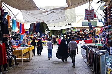 Grand Bazaar, Kerman city, Province of Kerman, Iran, Middle East