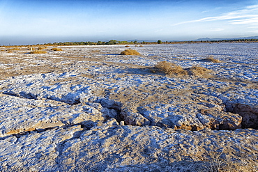 Mahrejan salt lake, Yazd area, Iran, Middle East